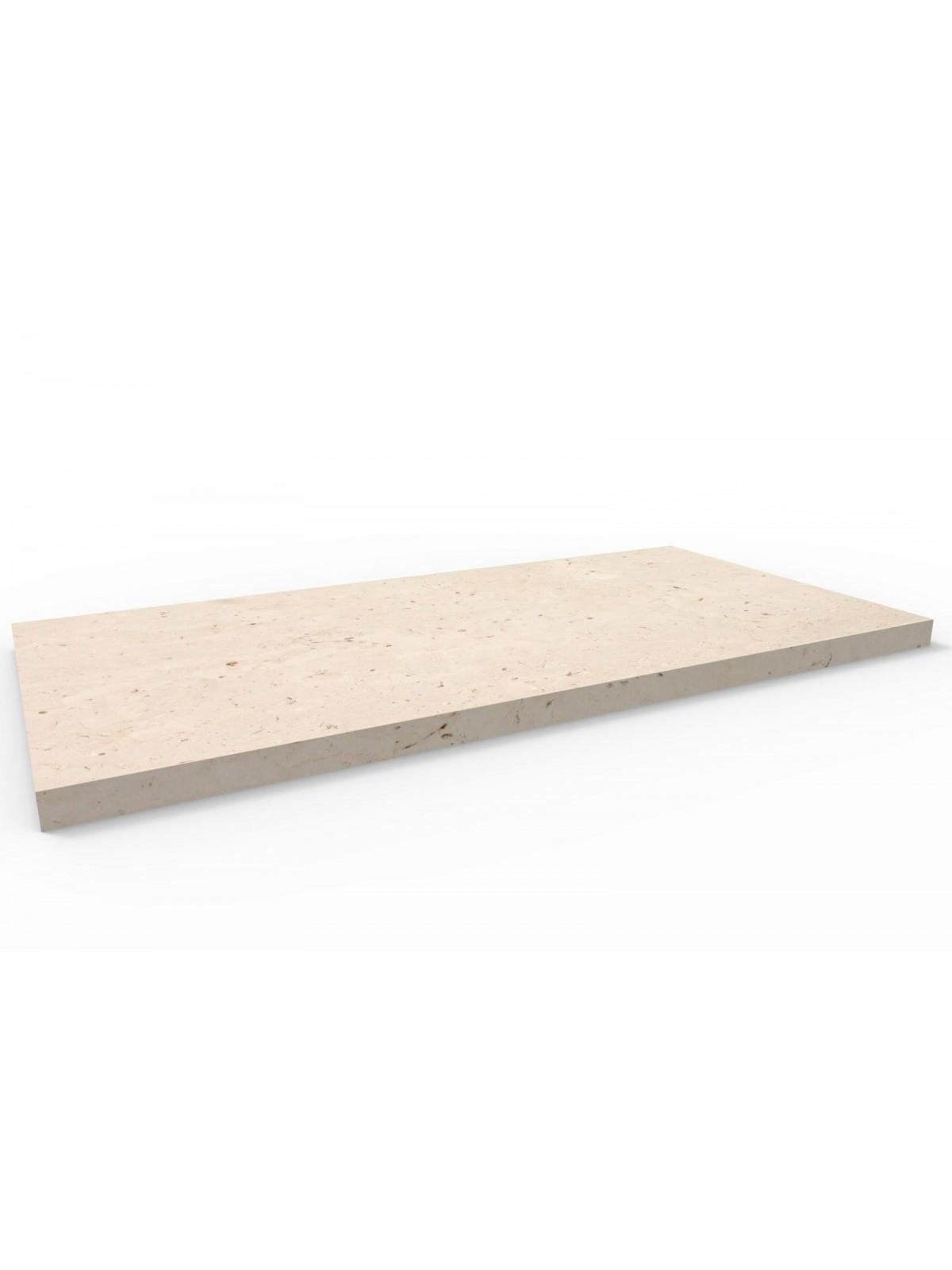 Bodenplatte I Trani Stein 60x30 cm