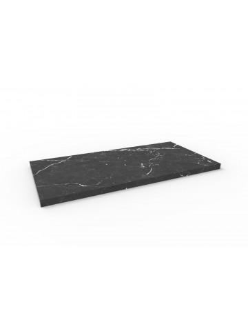 Marmor Bodenplatte I Nero Marquinia 60x30 cm