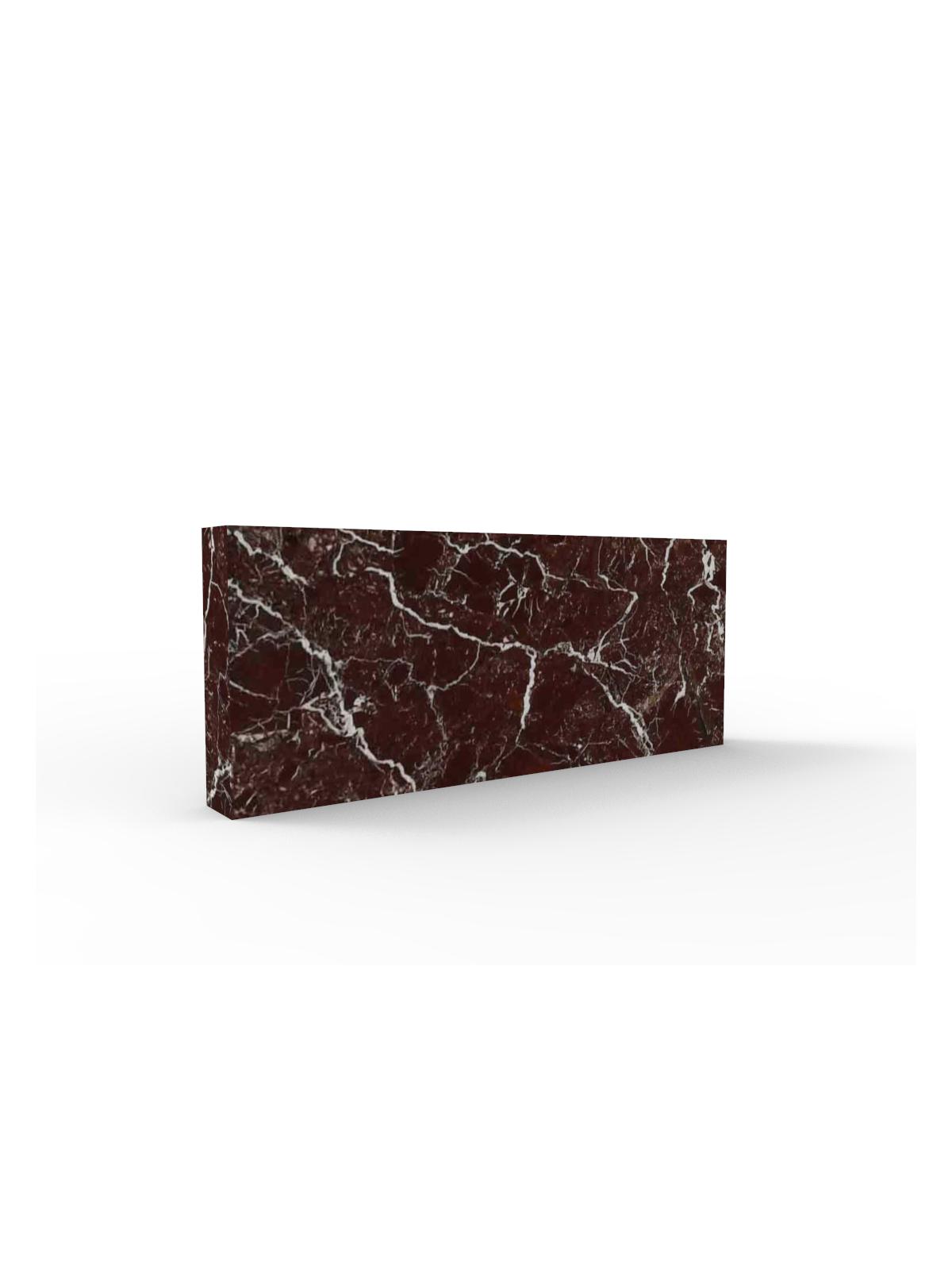 Marmor Sockelleiste I Rosso Levanto