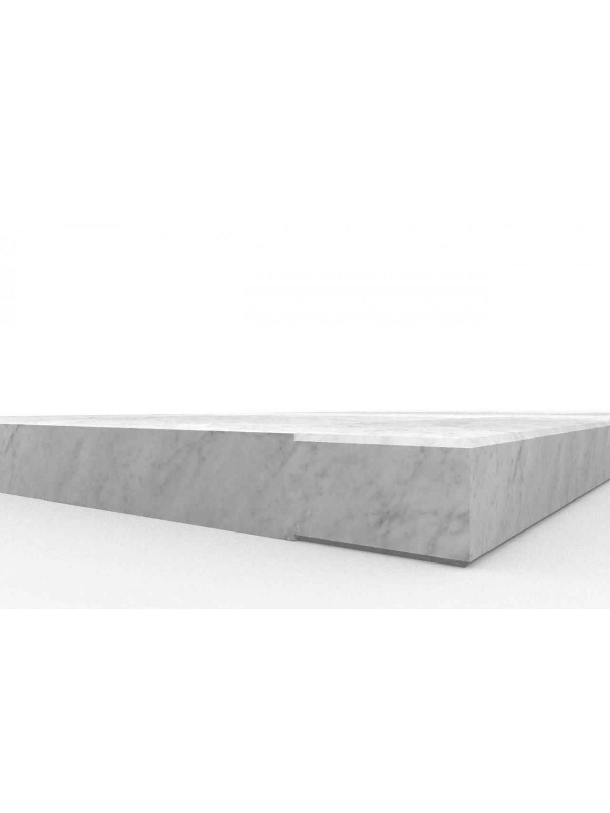 Schwellenwerte in Bianco Carrara