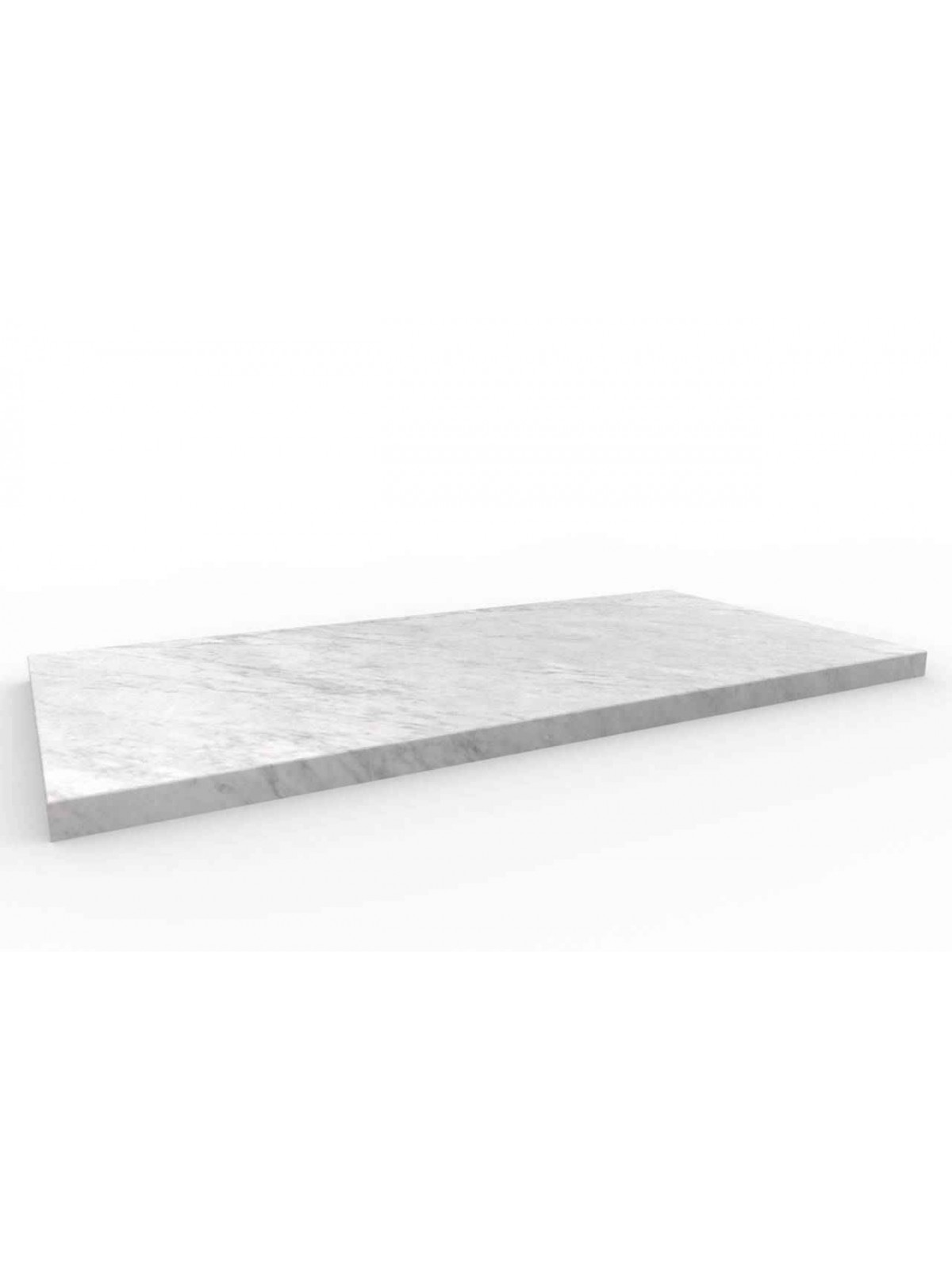 Bodenfliese I Bianco Carrara 60 x 30 cm