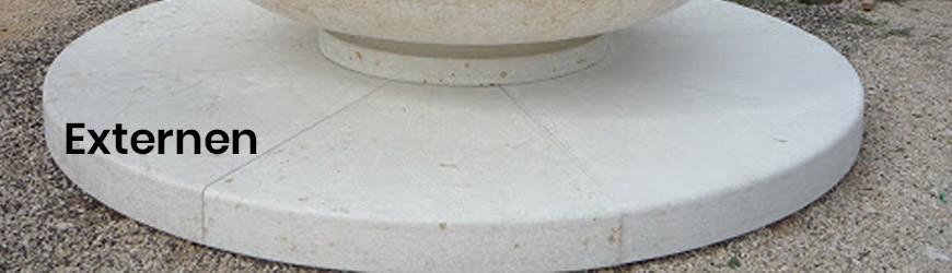 Brunnen für den Außenbereich aus Marmor, Granit und Stein