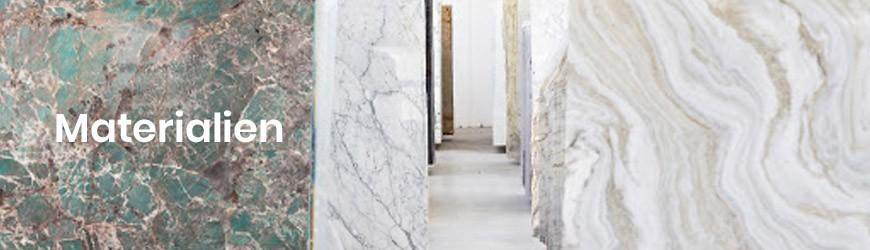 Entdecken Sie unsere Marmor, Granit und Steine.